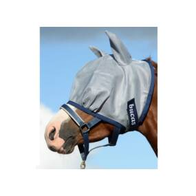 Buzz Off Fly Mask Blue