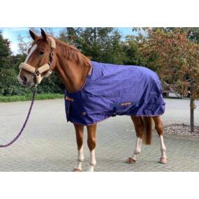 Deken Recuptex Therapy Turnout 150G Navy/Orange
