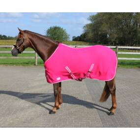 Fleece deken Color fuchsia