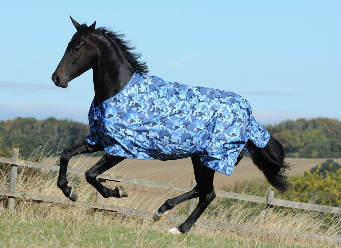 Bucas Freedom Turnout Light Blue Camouflage Maat 125/168